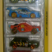 Hot Wheels Jungle Rally 5-Pack