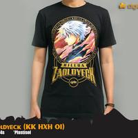 T-Shirt Killua Zaoldyeck Black Hunter X Hunter KK HXH 01