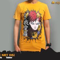T-Shirt No Gaara Yellow Naruto KK NRT 06