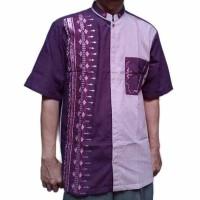 Baju Koko Pakaian Muslim Pria Bahan Katun Pir K 1102