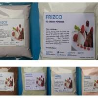 Bubuk Tepung Bahan ES Krim, Ice Cream FRIZCO, Rasa Green Tea, 500 gr