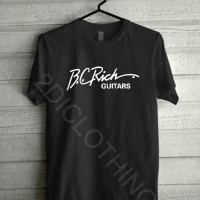 harga kaos bc rich gitar keren / tshirt bc rich guitar Tokopedia.com