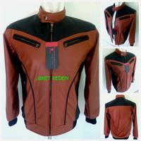 harga Terbaru...!!! Jaket Kulit Pria Keren Abis/ Jaket Motor Semikulit JK-59 Tokopedia.com