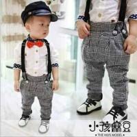 Belle Maison 4in1 set suspender (Kemeja,pants,suspender)