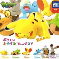 Pokemon Oyasumi Sleep Takara Tomy Gashapon Gacha Gachapon Set Of 3