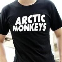 kaos fashion TUMBLR TEE T-shirt pria arctic monkeys