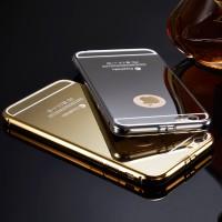 Case Mirror iPhone 5 5s Alumunium Metal spigen Casing tempered bumper