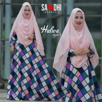 HALWA by  ori SANDHI (Dress + khimar)
