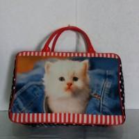 harga tas travel bag kanvas / koper / Tas bayi baby .. kucing cat Tokopedia.com