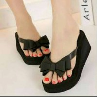 Jelly Shoes Pita Ribbon Elizabeth Js30 Sandal Jelly | Sandal Wanita
