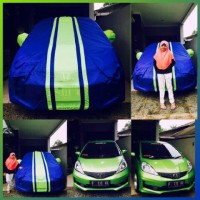 sarung cover selimut penutup mobil all new jazz RS yaris picanto agya