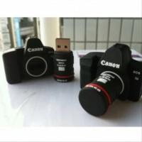 SLR Camera Canon Shape USB 2.0 Flashdisk 16GB - Black