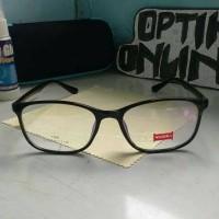 Kacamata Ringan Elastis + Lensa Minua / Plus Anti Radiasi