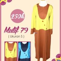 Gamis terbaru - Gamis Mutif 79 (warna kuning)