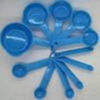Set Sendok Takar Plastik 1 Set Isi 11