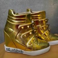 harga ready sneaker wedges sepatu wanita pria dancer Tokopedia.com