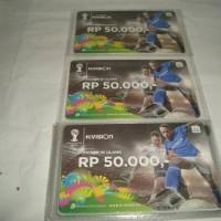 Voucher Kvision Nominal Rp 50.000