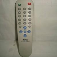 Remote Control Universal TV Tabung / CRT untuk Semua TV Cina (Sanyo Dll)