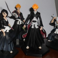 BLEACH Original Figure BANDAI Candy Toys 4 Karakter (Part Lengkap)