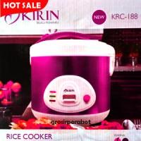 Magic Com Kirin - Rice Cooker Penanak Nasi Kirin KRC 188 2 L - Magenta