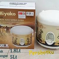 MIYAKO MCM-508 BATIK Rice Cooker Magic Com Motif WAYANG Timbul 1.8L