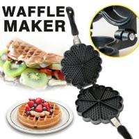 harga Cetakan Wafel Waffle Pancake Maker Waffle Maker Anti Lengket Tokopedia.com