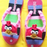 Sandal / Sendal Jepit Kreasi untuk Anak dan Dewasa
