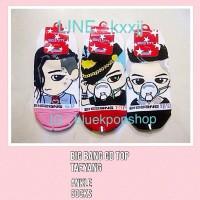 Kaos Kaki Kpop BIG BANG GD ~ TOP ~ TAEYANG Chibi Import