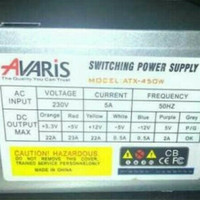 Power Supply Avaris 450 Watt