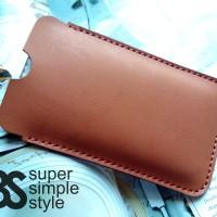 Leather case pouch Xiaomi Redmi 2 Prime ( Sarung HP )