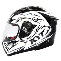 harga Helm KYT RC Seven RC7 Motif Black White Full Face RC 7 Tokopedia.com