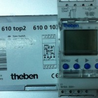 THEBEN TR 610 TOP2 digital time switch made in GERMANY