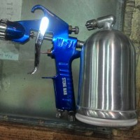 harga Spray Gun Semprot Cat Kompresor Compressor Tokopedia.com