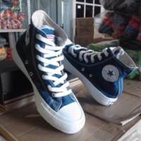 Sepatu CONVERSE All Star Blue Sea High