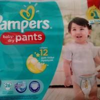 harga Pampers Baby Dry Pants L26 Tokopedia.com