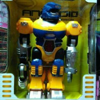 Mainan Anak - Robot Android (Kuning)