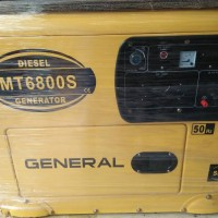 Genset Solar 5000 watt General MT 6800 S