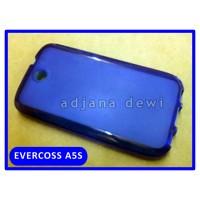 Silikon Case Evercoss Cross A5s Biru Transparan