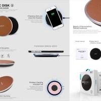 Jual Nillkin Magic Disk III Wireless Charger (Fast Charge) Murah