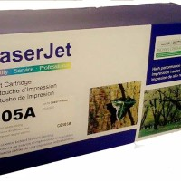HP 05A Compatible Cartridge Toner Printer Laserjet CE505A - Black