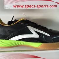 sepatu futsal specs metasala rebel black white green 2016 new original