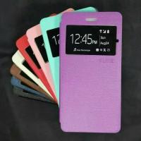 Flip case cover Smartfren Andromax Es Sarung dompet Andromax Es