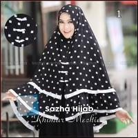Khimar Syari Terbaru Sazha Hijab - Khimar Mechio
