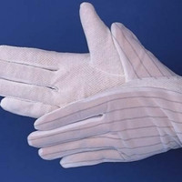ESD Dotted Glove / Sarung Tangan Antistatic dot