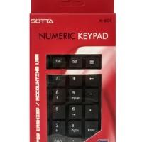 Keyboard Numeric SOTTA K-801