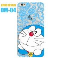 Custom Case Bahan Softcase Bening Clear Transparan - Gambar Doraemon