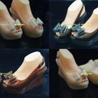sepatu sandal wedges jelly sofiya (sepatu wedges, sandal wedges)