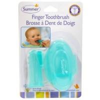 Sikat Gigi Jari Lidah Bayi Summer Finger Toothbrush With Case