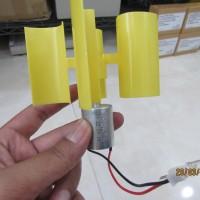 Mini Windturbine / Pembangkit Listrik Tenaga Angin / Dinamo Mini Angin