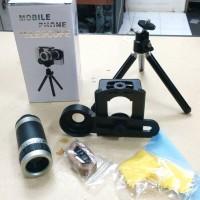 harga Teropong Kamera Hp / Mobile Phone Telescope Dilengkapi Bipod Tokopedia.com